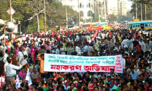 March to Assembly, Kolkata