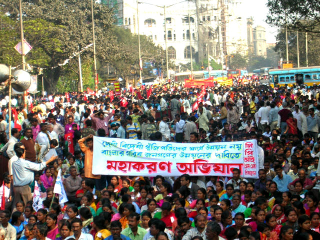 March to Assembly, Kolkata