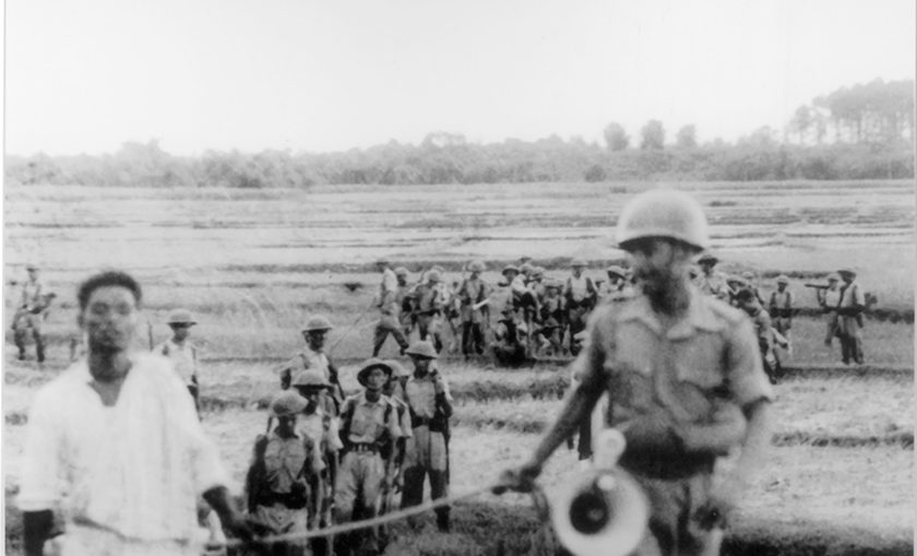 Police raid at Naxalbari, 1967