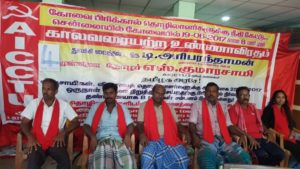 Indefinite Hunger Strike Against Victimization of PRICOL Workers