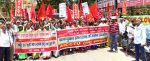 Workers' Protest in Ranchi