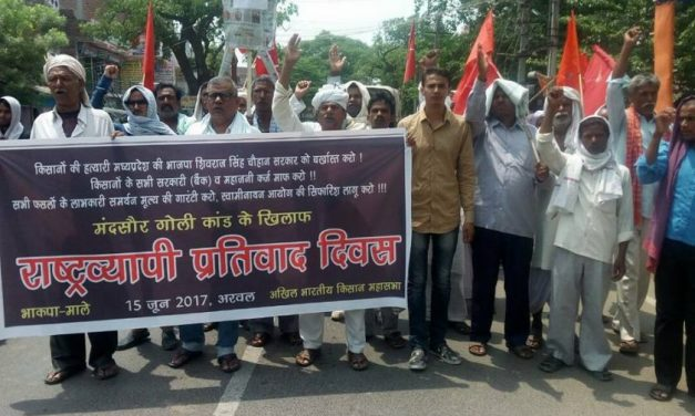 Beat back the Sangh-BJP Fascist Offensive: Avenge the Killing of Agitating Farmers in Mandsaur