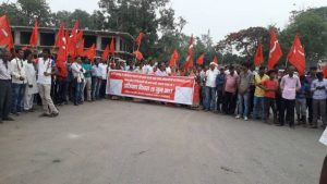 Nationwide Protests against Firing on Farmers in Mandsaur