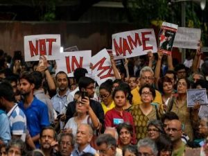 'Not in My Name': Countrywide Protests