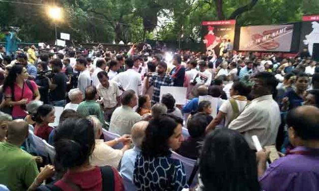 Wave of Protests Against Spate of Communal Mob Lynchings