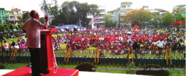 CPI(ML) Commemorates 50 Years of Naxalbari