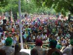 Kisan Mukti Yatra Culminates at Parliament Street
