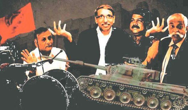 Tank In JNU: Modi Government Is Waging War On India's Universities