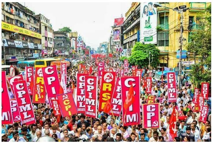 Massive Left Rally in Kolkata Against Communal Violence