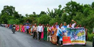 Tea Workers' Rally in Siliguri