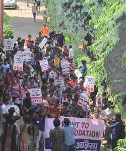 AISA organizes Poetry Procession against Growing Violence in Delhi University