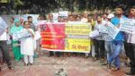 AICCTU Protest Against Sewer Deaths In Delhi