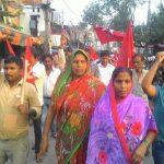 AICCTU March in Delhi's Wazirpur Industrial Area