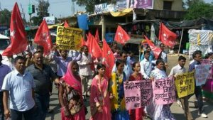 Protests in Jharkhand against Deaths from Hunger