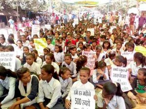 Sadak Par School Campaign Enters 8th Phase