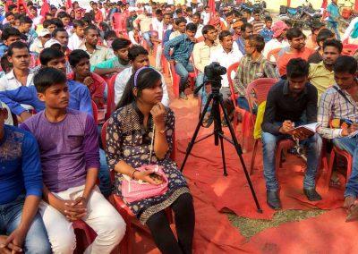 Students-Youth Adhikar Yatra -Ara