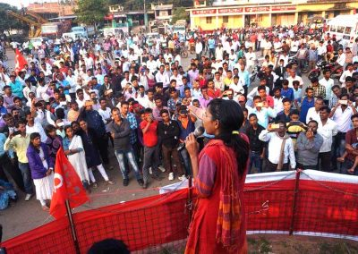 Students-Youth Adhikar Yatra -Bagodar