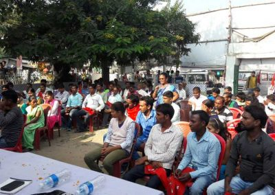 Students-Youth Adhikar Yatra -Garhwa 2017-11-18