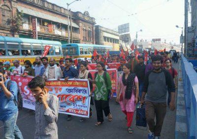 Students-Youth Adhikar Yatra -Kolkata