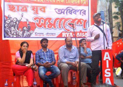 Students-Youth Adhikar Yatra -20171122