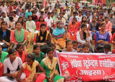 Students-Youth Adhikar Yatra -Darbhanga
