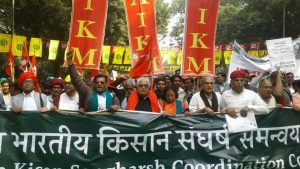 Farmers Hold Massive Kisan Mukti Sansad At Parliament Street