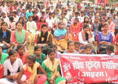 Students-Youth Adhikar Yatra --Darbhanga
