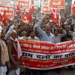 Left Protest against Violence on Dalits and Minorities in Bihar