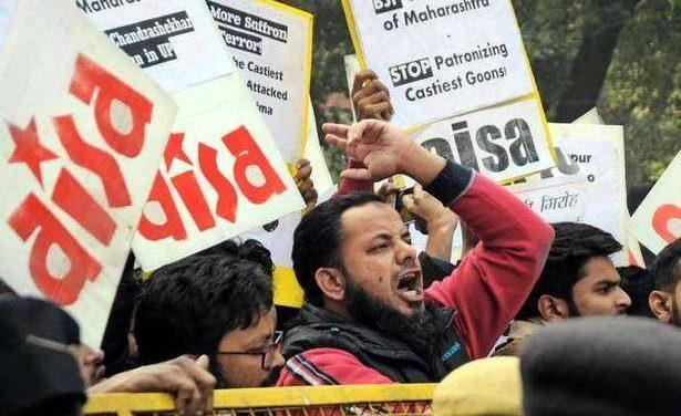 Protests Against Attack on Dalits At Bhima Koregaon