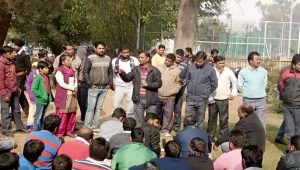 Meeting for awareness of PGI contract workers in Chandigarh