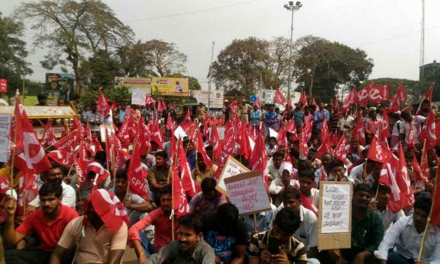 Mangaluru Port Workers on Indefinite Strike