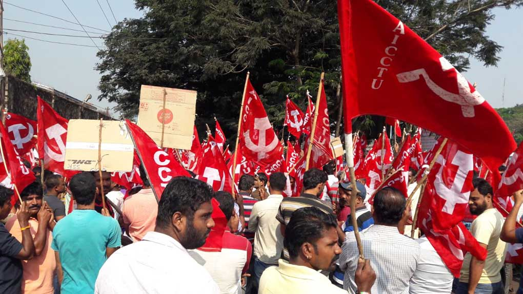Historic 9-Day Long Strike in Mangaluru Port by Workers of Shipping Companies