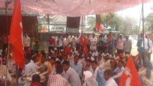 One-Day Dharna At Ranchi Raj Bhavan :  For Initiatives To Secure Release Of Workers Held Captive In Afghanistan