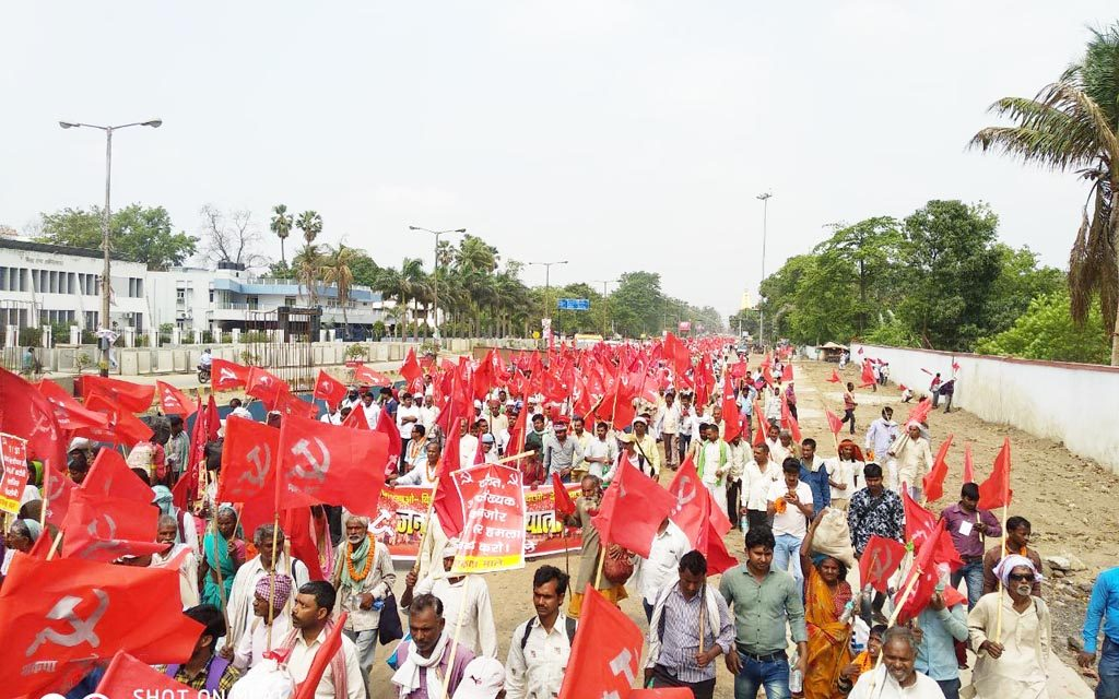 Janadhikar Padyatra and Mahasammelan with Slogan of 'BJP Bhagao, Bihar Bachaao' in Bihar
