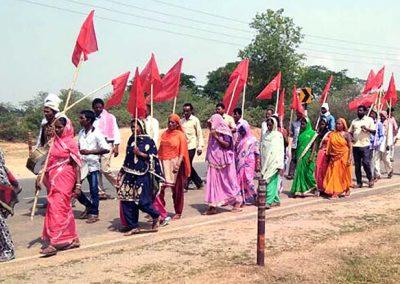 Janadhikar Padyatra, Rajdhanwar, Jharkhand.