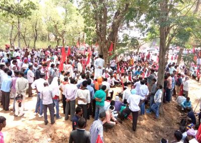 Janadhikar Padyayatra Meeting in Jharkhand