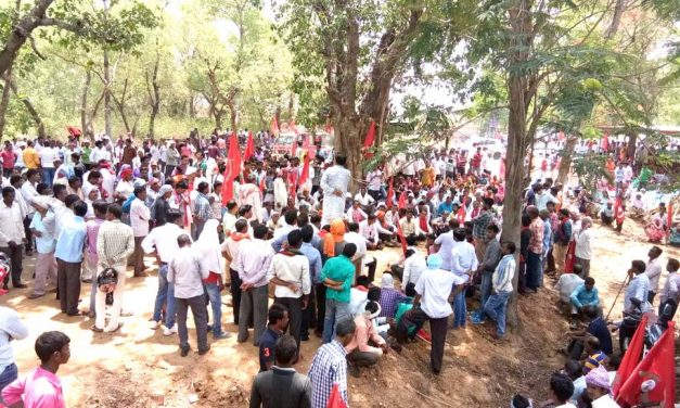 Rural India Demands Employment:  A Campaign in TN by AIARLA, AIKM