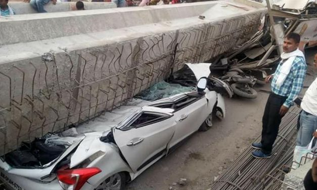 Criminal Negligence Responsible For Varanasi Flyover Collapse