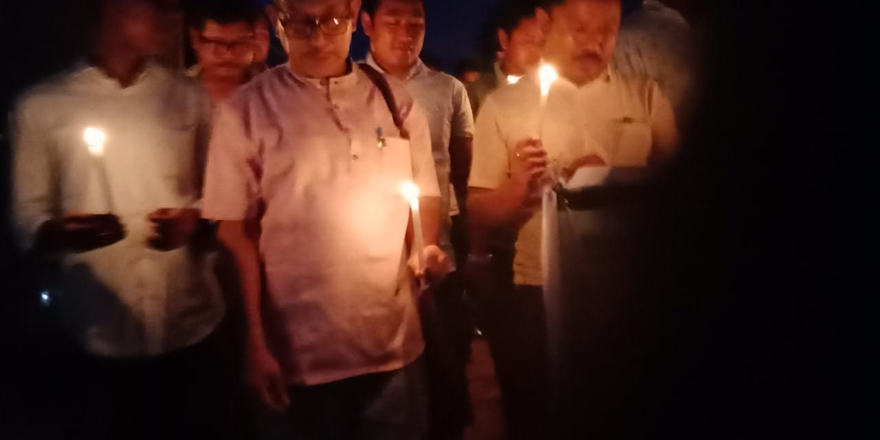 Protests Against Lynching of Two Men in Karbi Anglong