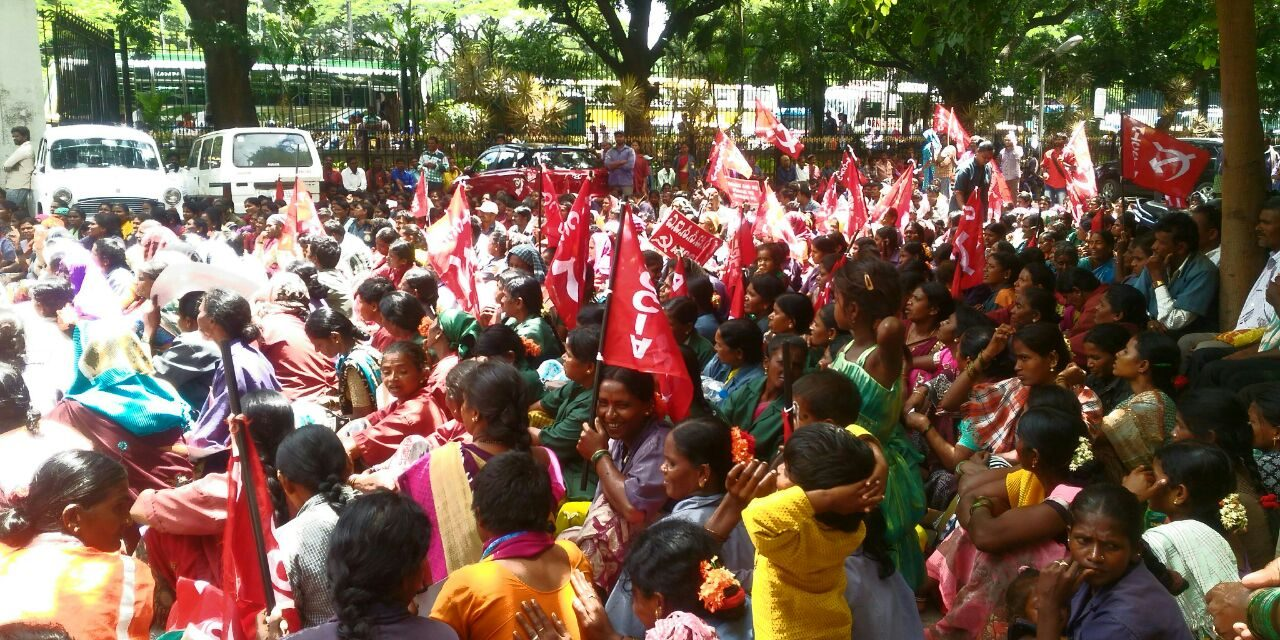 Municipal Sanitation Workers Strike In Bengaluru
