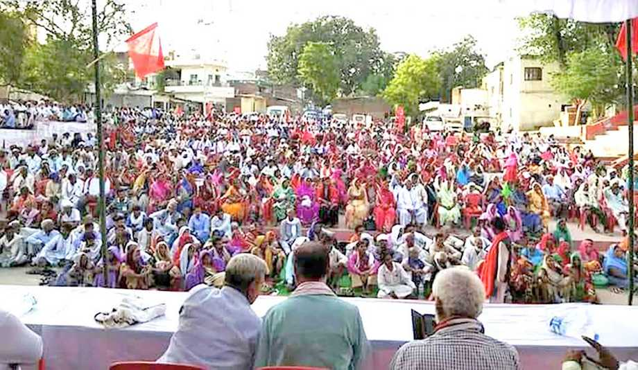 'Jawab Do' Rally Against Modi-Yogi Raj in Varanasi