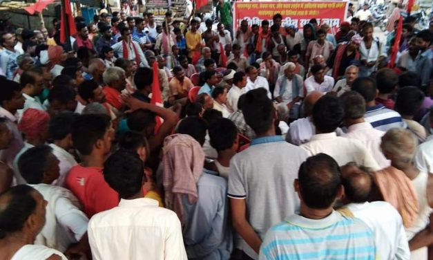 Farmers of Bhojpur Come Out in Protest for Canal Water