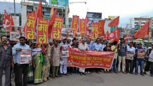 Left Protest Attacks on Activists in West Bengal and Tripura