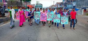 Protest Against Gang Rape in Khunti District