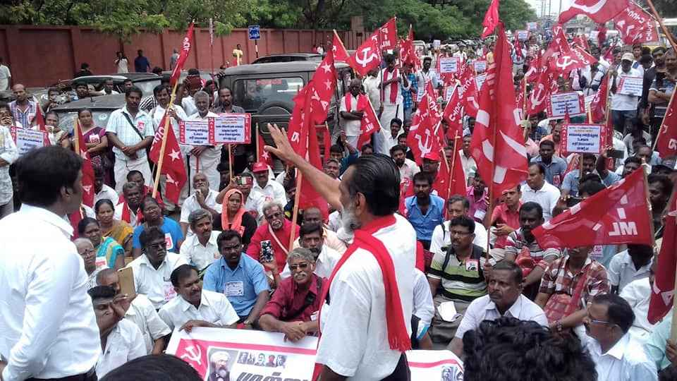 Workers' Protests in Tamil Nadu