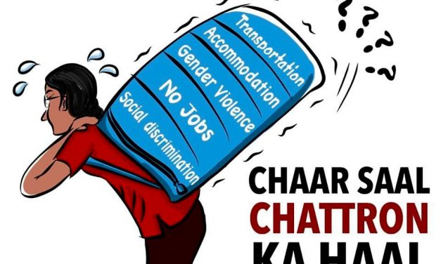 AISA Launches the Campaign 'Chaar Saal, Chattron ka Haal'